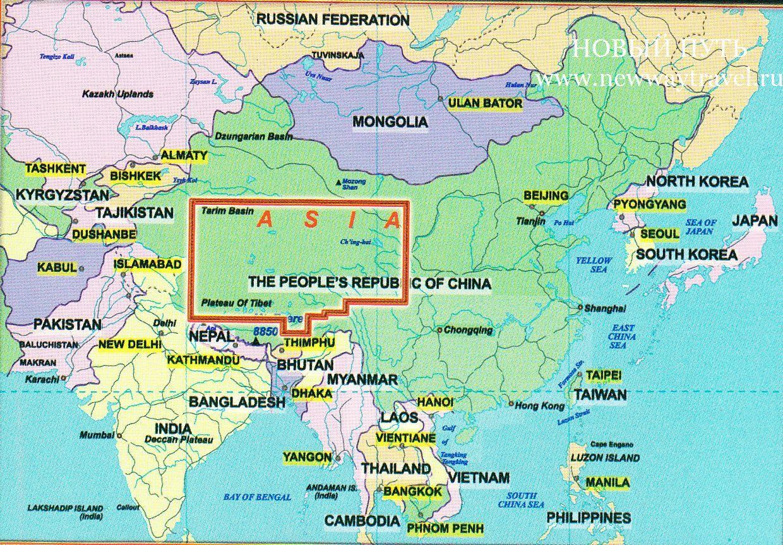 тибет где находится какая страна карта Банк предлагает выгодные